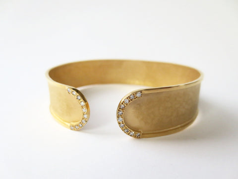 Marika Desert Gold - Cuff Bangle