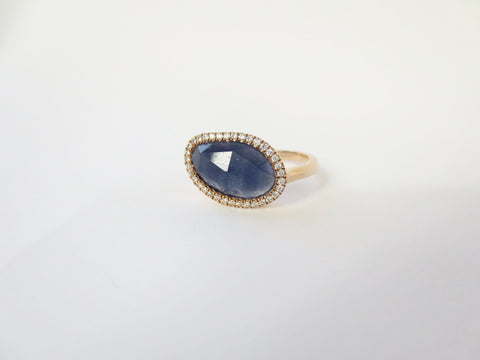 Blue Sapp Ring