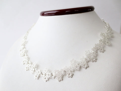Daisy Necklace -Wide