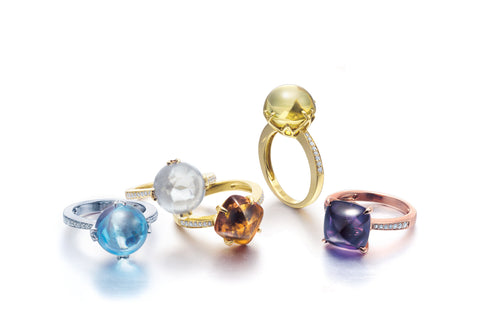 Fred Sage Jellybean Collection Rings