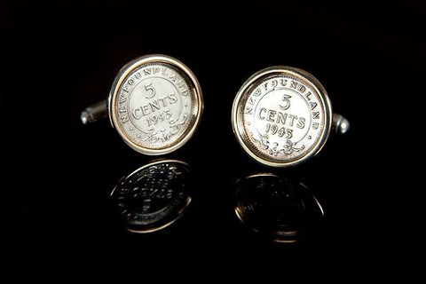 NL Coin Cufflinks