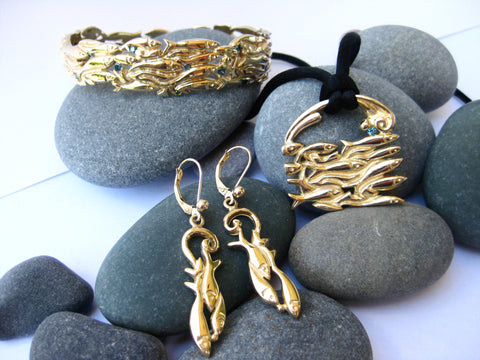 Rolling Capelin Collection- 14k Yellow Gold Set