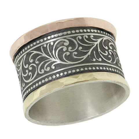 David Tishbe - Goldwrapped Paisley Ring