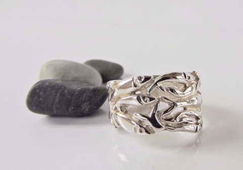 Rolling Capelin Ring- Wide