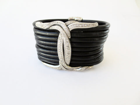 Scott Kay Leather Cuff
