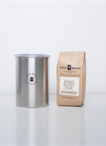 Coffee + Airscape Canister