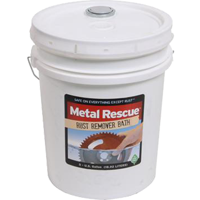 5 Gallons of Metal Rescue™ Rust Remover