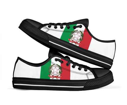 Italy Flag Low Top Sneakers