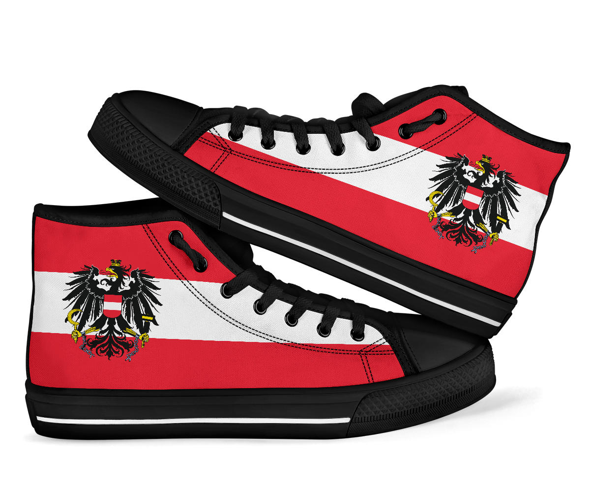 Austria High Top Sneakers Shoes 99promocode