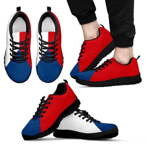 Czech Flag Sneakers for Womens Mens