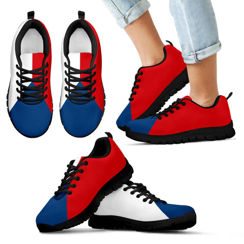 Czech Flag Sneakers for Kids