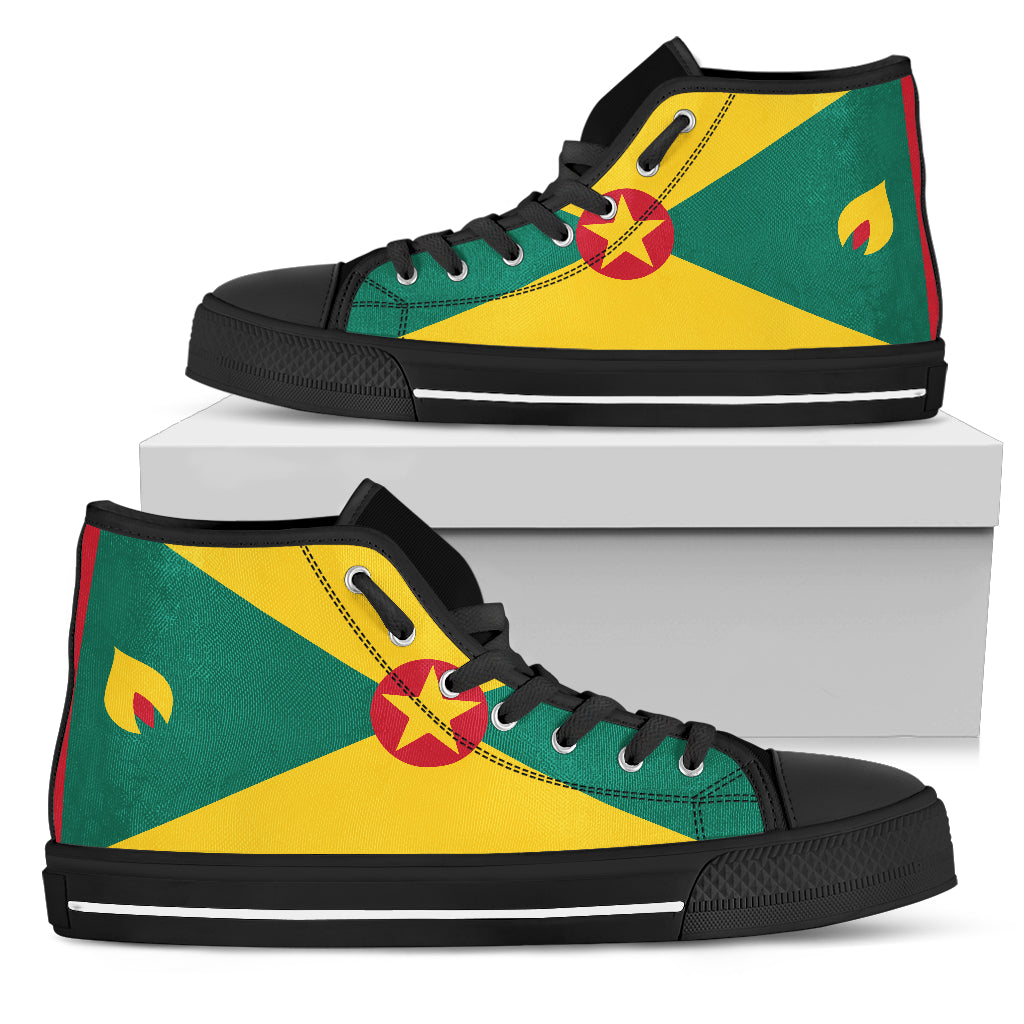 Grenada flag High Top Shoes 99promocode