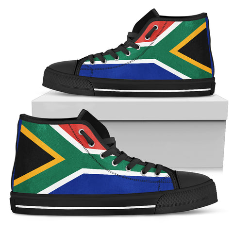 South Africa Flag High Top Sneakers