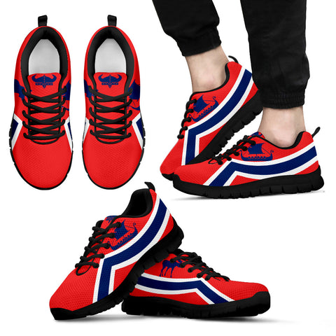 Norway Flag Sneakers