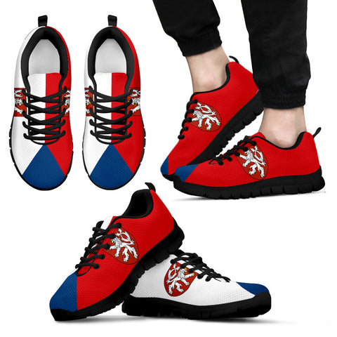 Czech Flag Sneakers