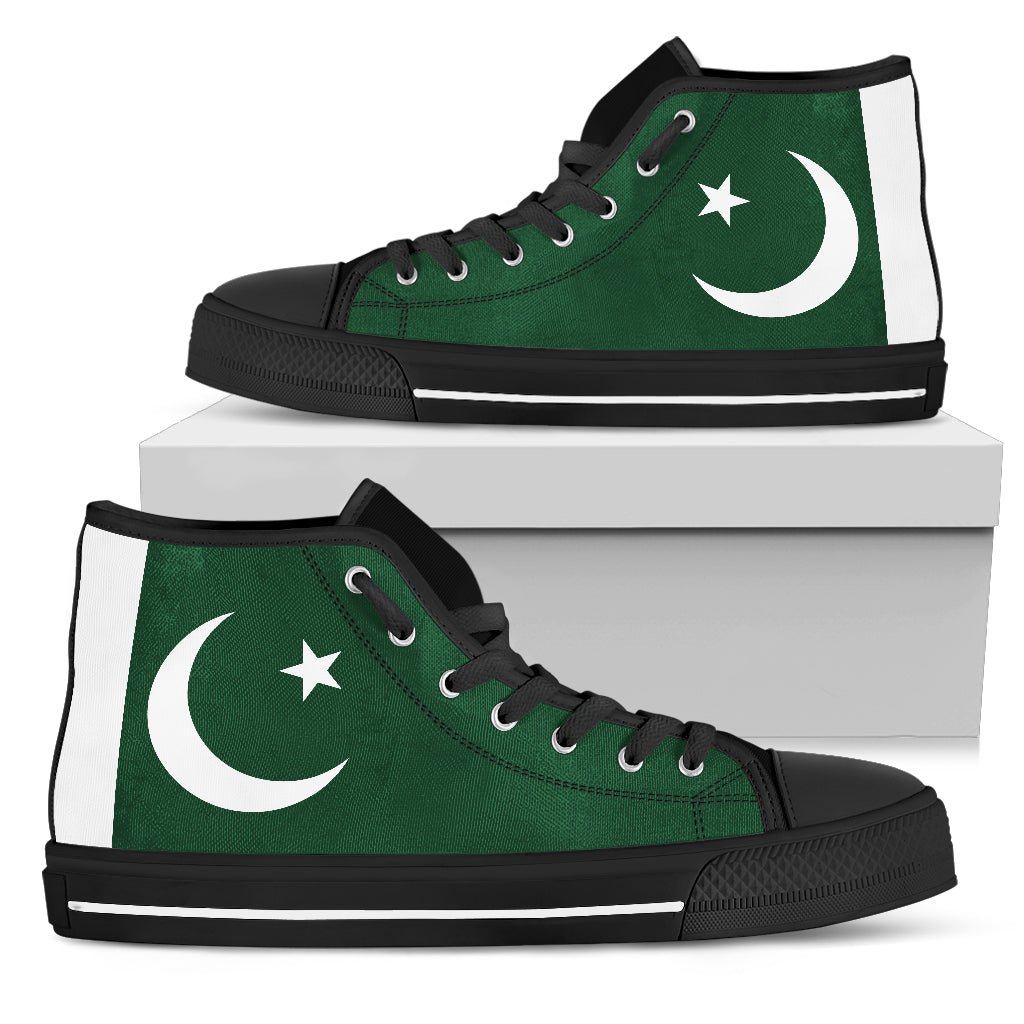 Pakistan Flag Sneakers shoes 99promocode