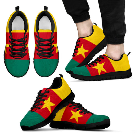 Cameroon Flag Sneakers