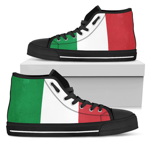 Italy Flag High top Sneakers