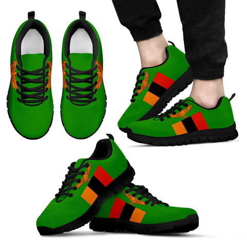 Zambia Flag Sneakers