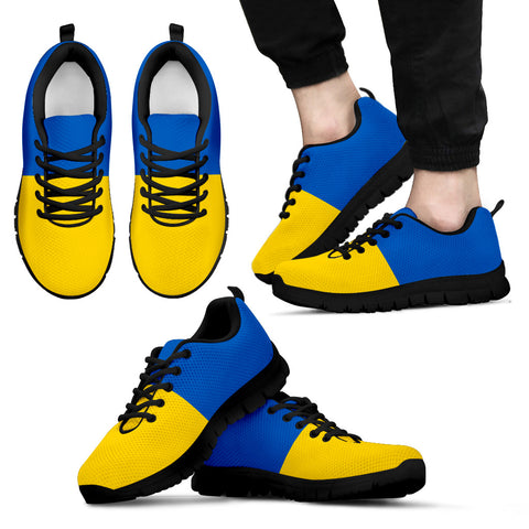 Ukrainian Flag Sneakers