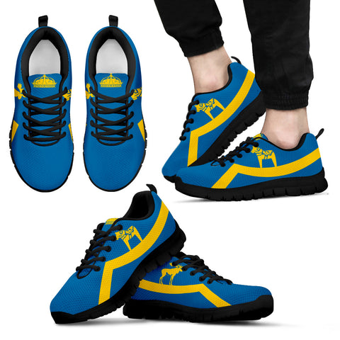 Sweden Flag Sneakers