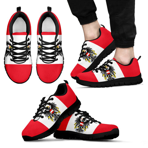 Austria Flag Sneakers