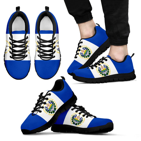 El Salvador Flag Sneakers