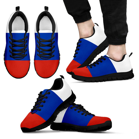 Russian Flag Sneakers for Womens Mens