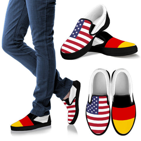 German - American Slip-On Shoe