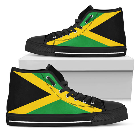 Jamaica Flag High Top Sneakers