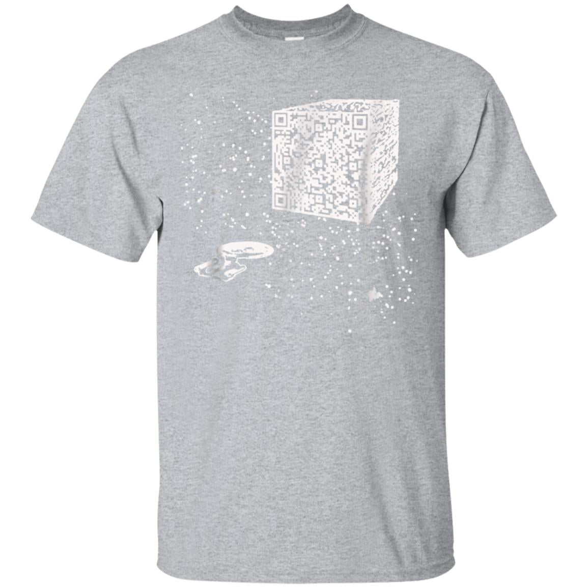 QR Code Cube We are the borg t-shirt 99promocode