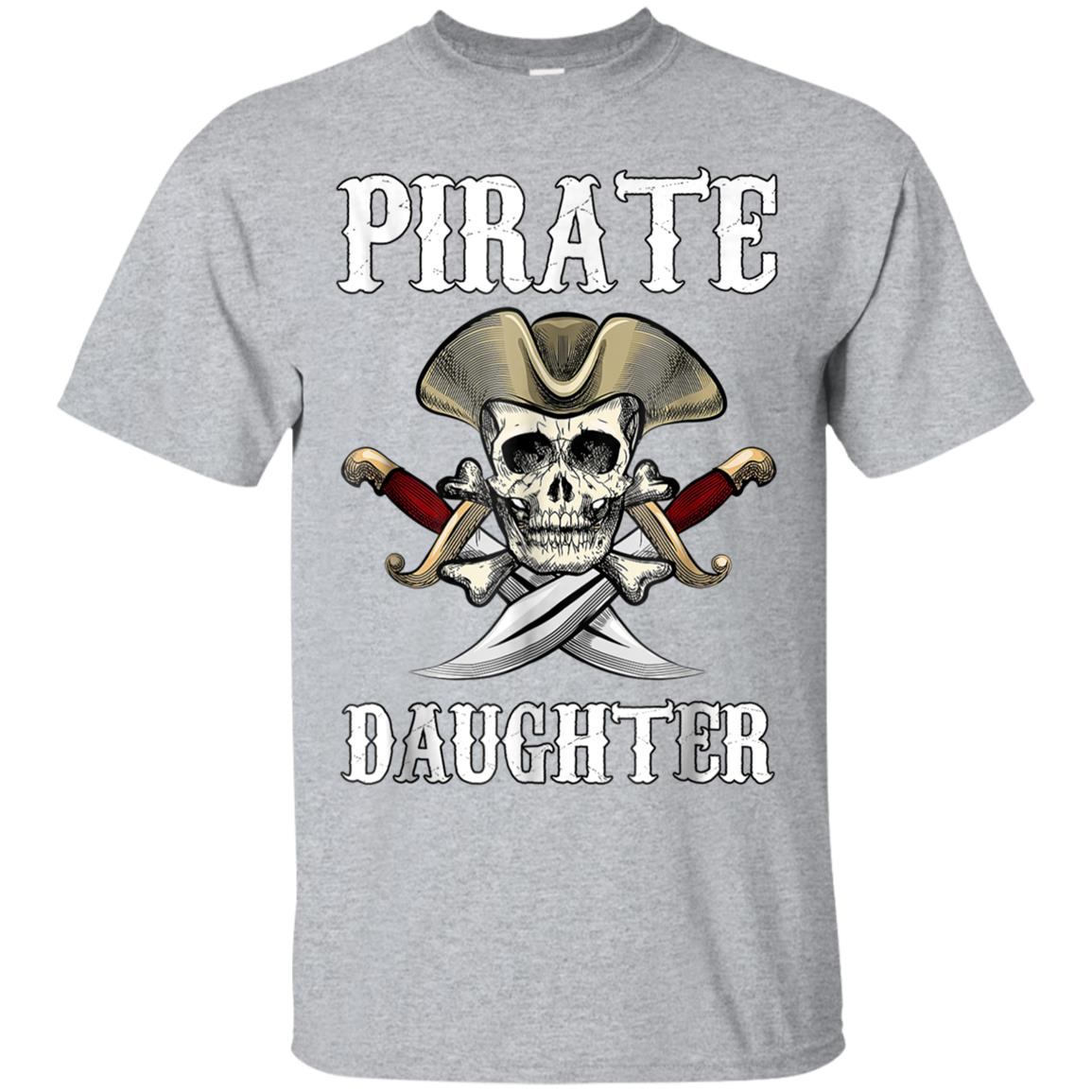 Pirate Daughter Halloween T-Shirt Skull Adult Costume Gifts 99promocode