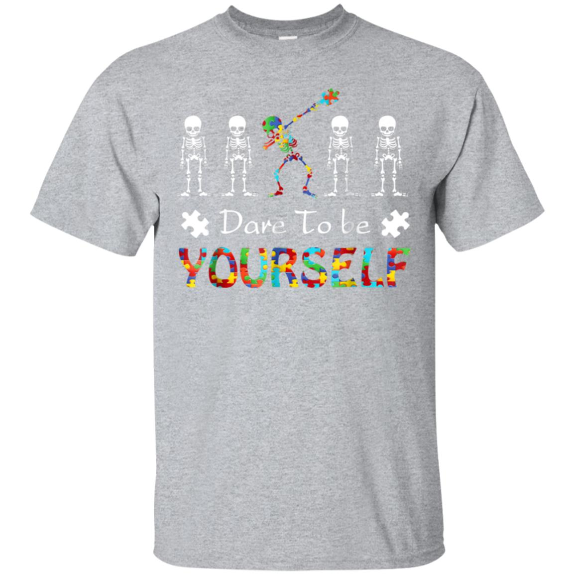 Autism Awareness Shirt For Boys Dare To Be Yourself Tee 99promocode