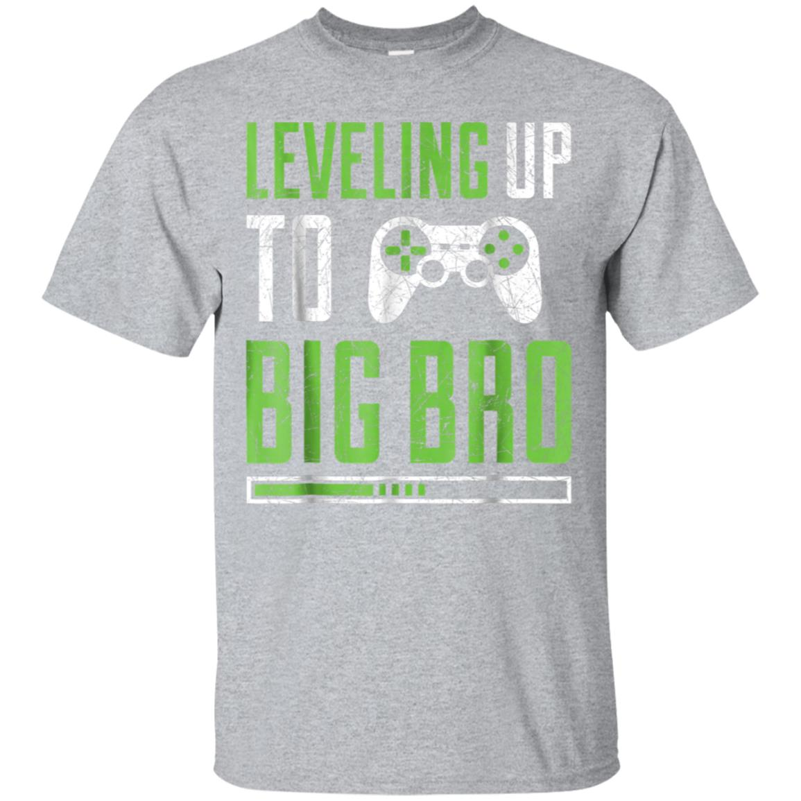Leveling up to Big Bro T-Shirt Promoted To Big Brother Shirt 99promocode