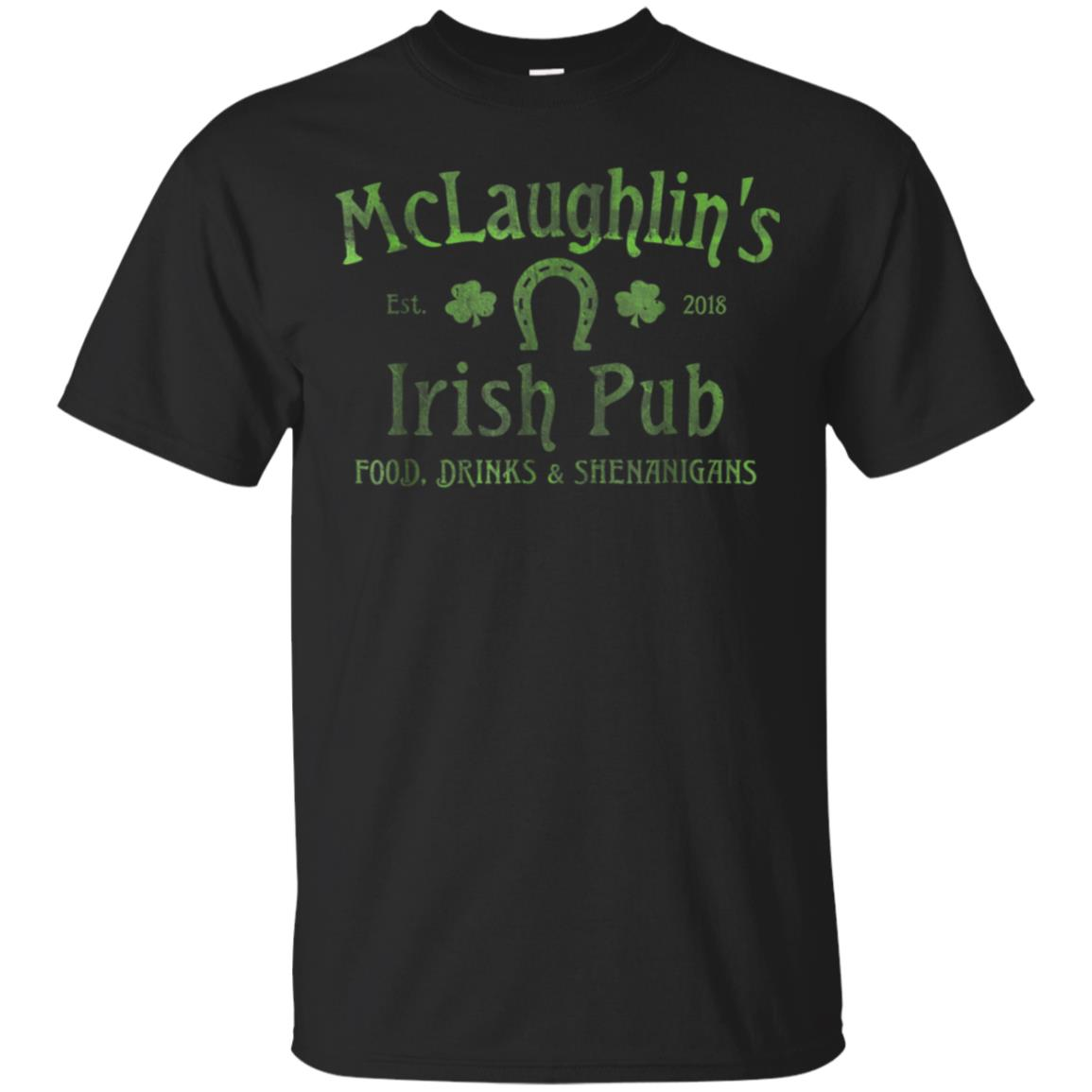 McLaughlin's Irish Pub T-Shirt St. Patrick's Day Party Shirt 99promocode