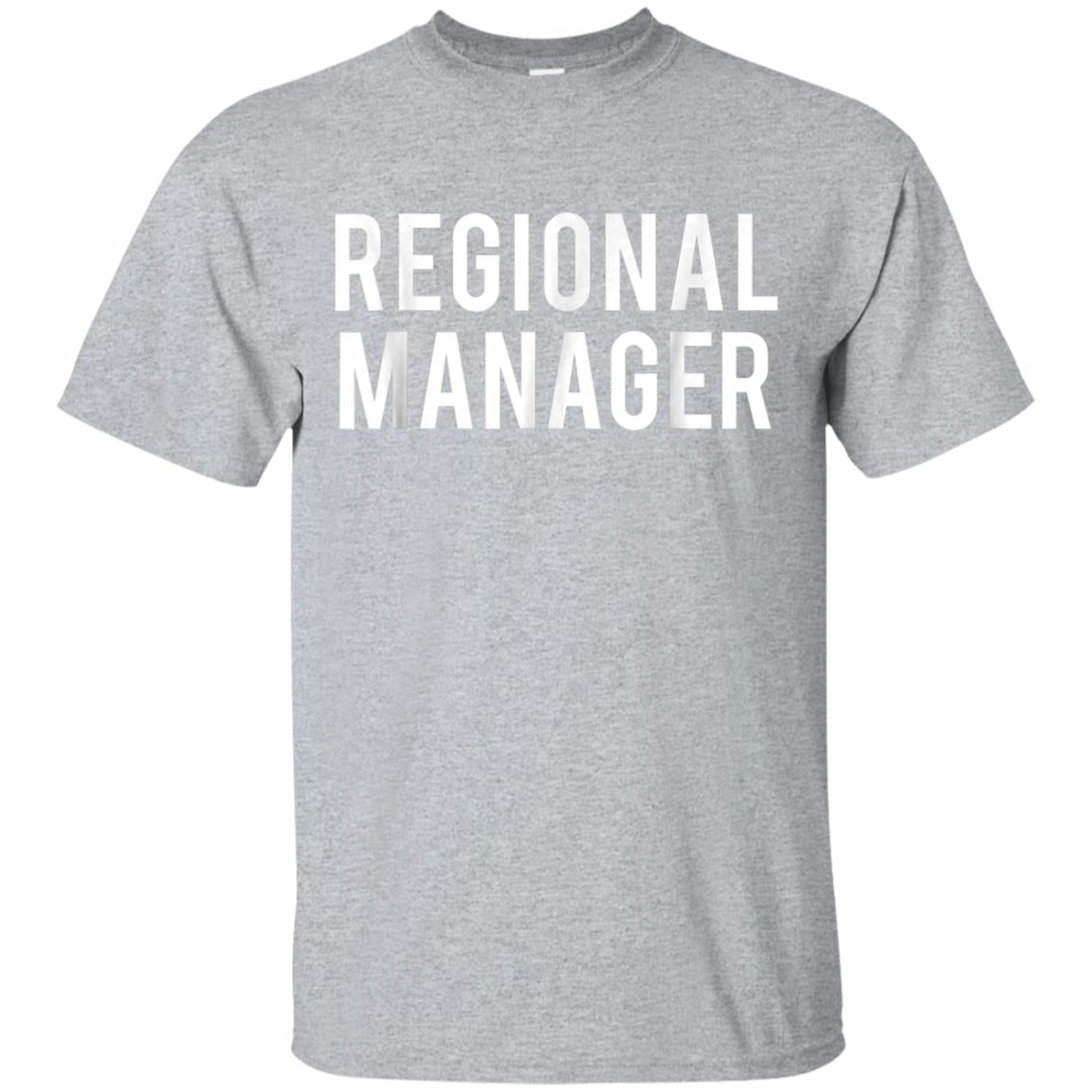 Regional Manager Shirt for Office Supervisors & Organizers