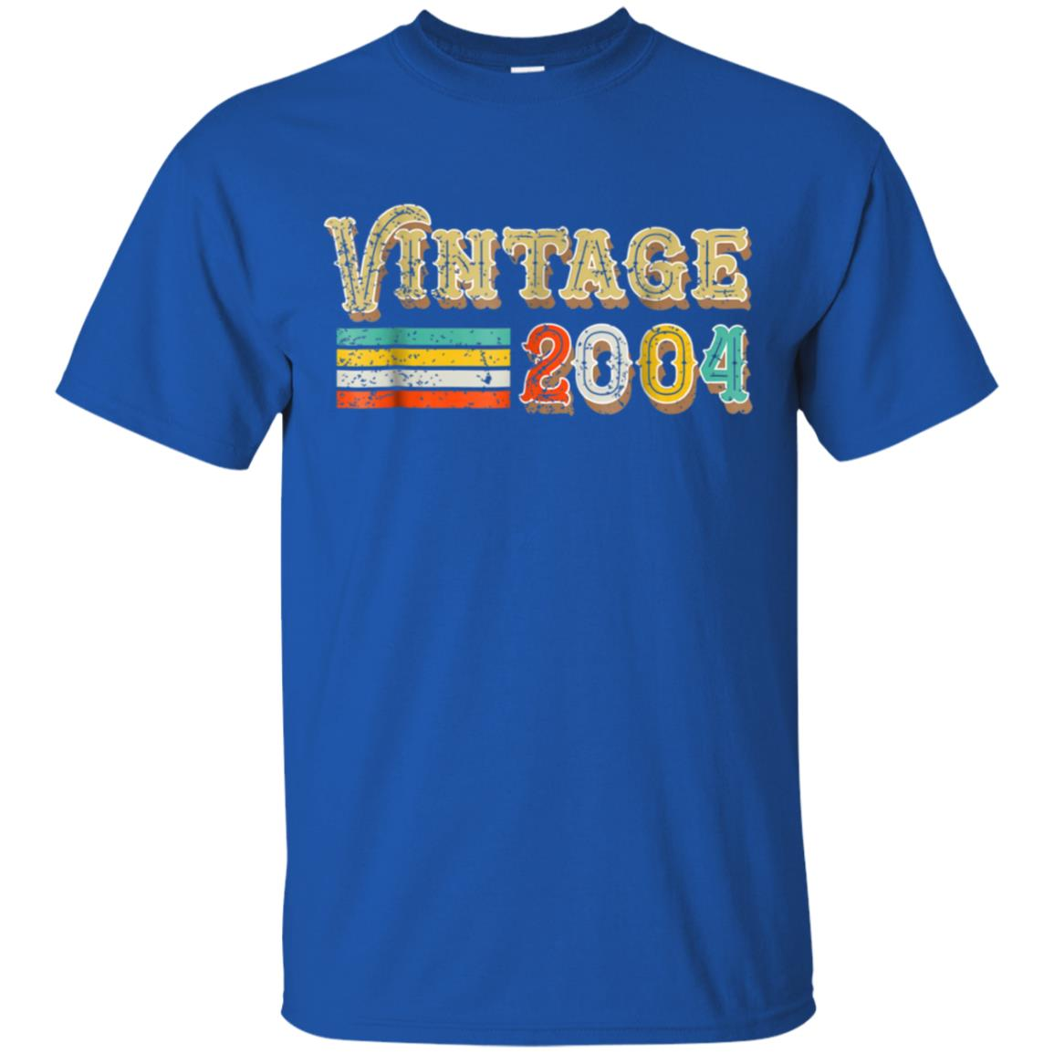 14th Birthday Gifts Vintage 2004 T Shirt 14 Year Old Outfit