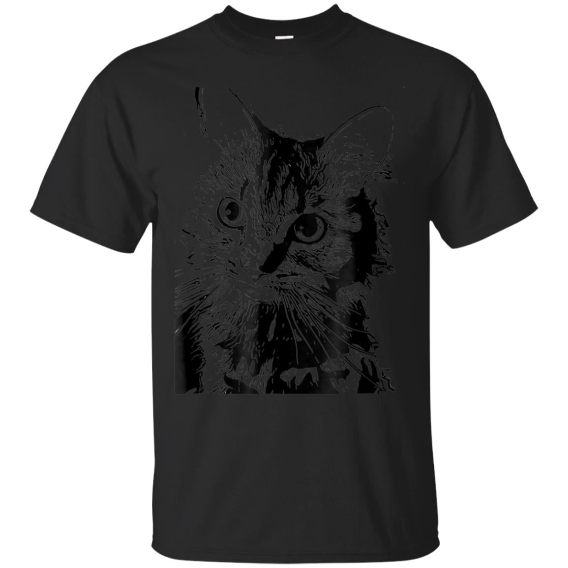 Black graphic of a kitten 99promocode