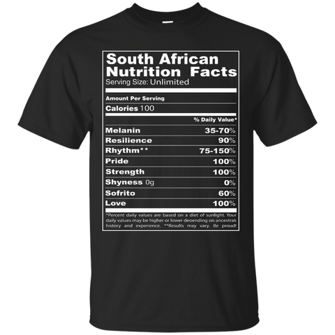 south african Nutrition Facts