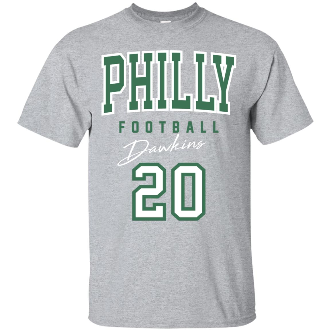 Philadelphia Dawkins Football Long Sleeve Shirt 99promocode