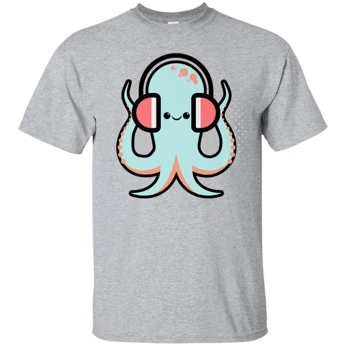 Cute Octopus Shirt Kawaii Funny Anime TShirt Gift 99promocode