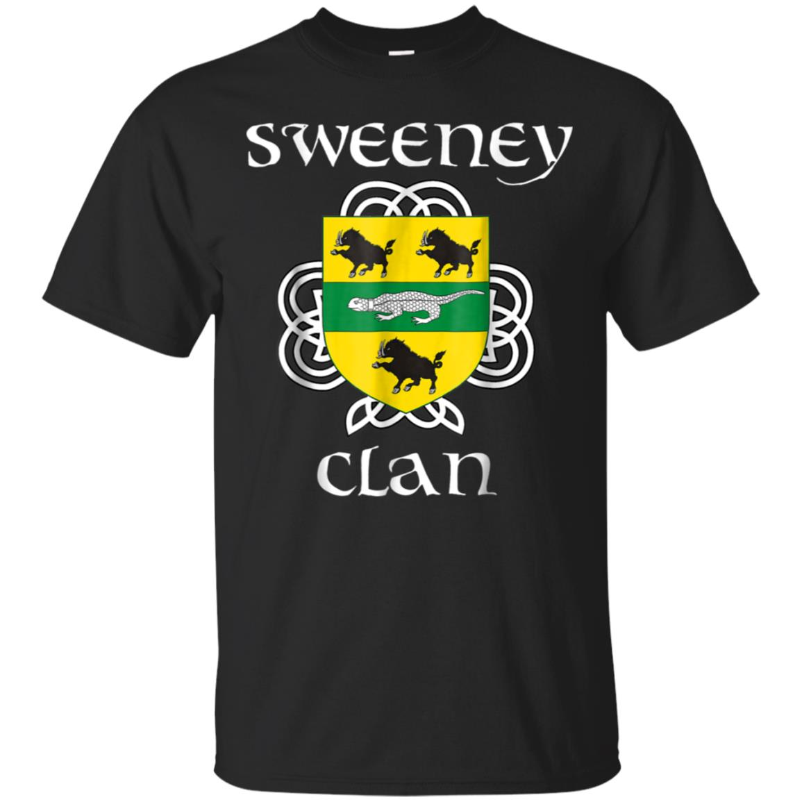 Sweeney Family Crest Shirt, Irish Reunion T Shirt 99promocode