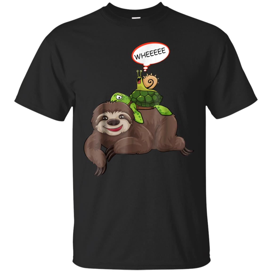 Sloth Turtle Snail Funny Sloth Cute Sloth Lover Shirt Gift 99promocode