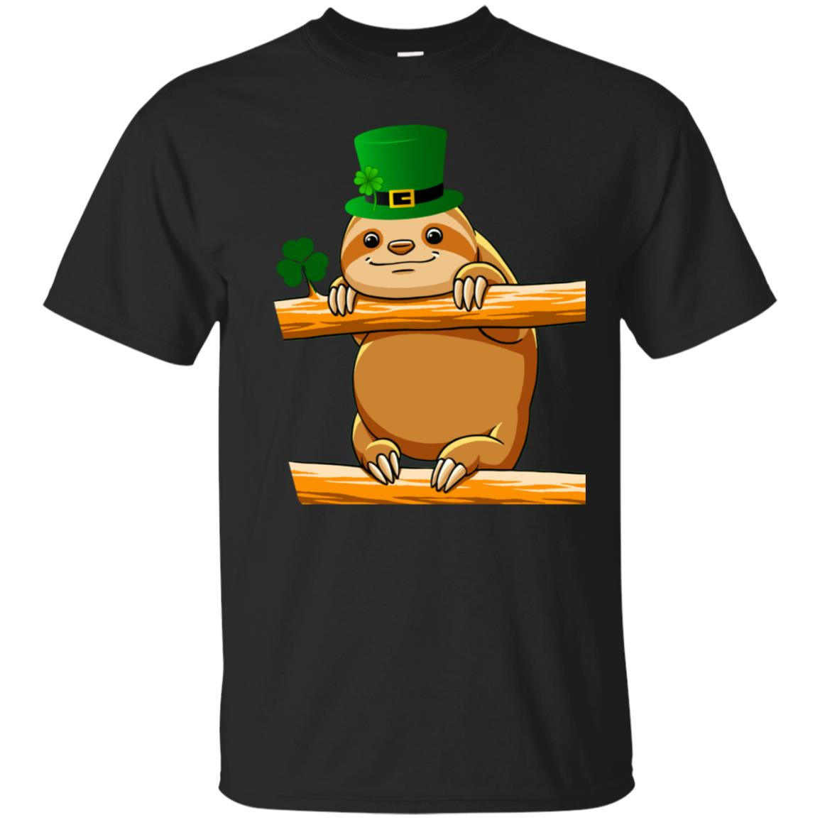 Cute Saint Patrick's Sloth T Shirt for Sloths Lovers 99promocode