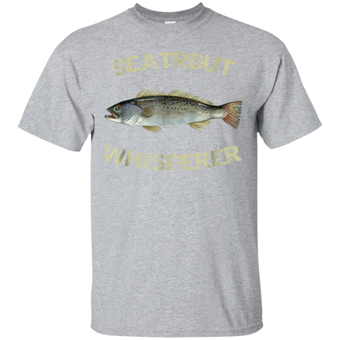 Seatrout Whisperer T-Shirt  Spotted Seatrout Tee 99promocode