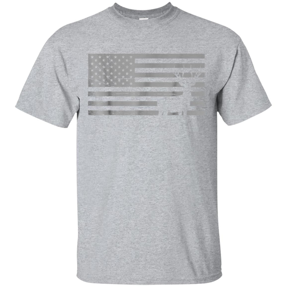 Deer Hunting And America Flag T Shirt Hunting Lover Gift 99promocode