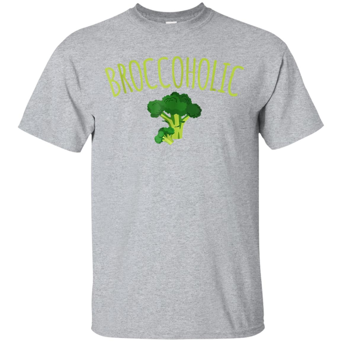 Funny Vegan BroccoliBroccoholic T-Shirt Perfect Gift Idea 99promocode