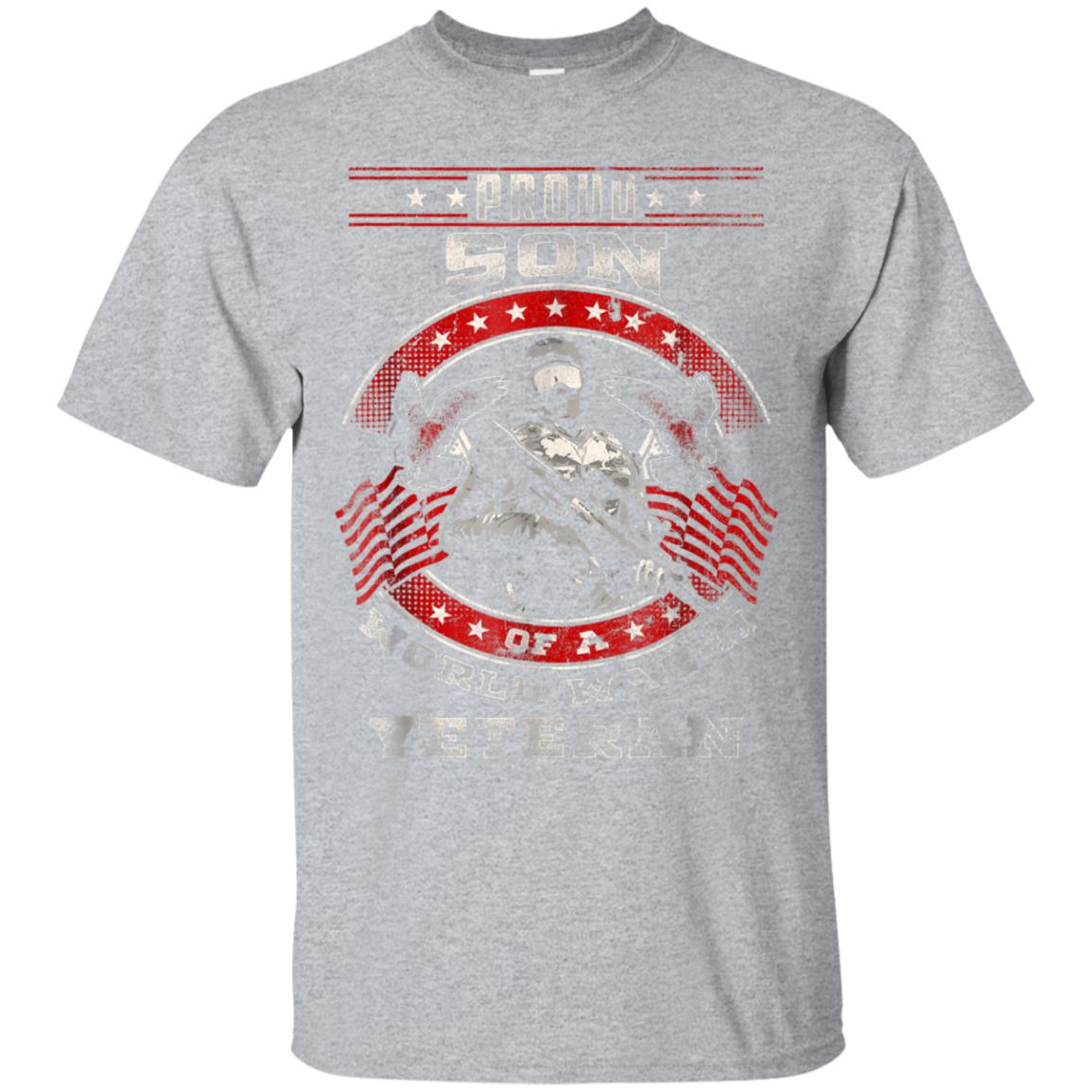 Proud Son Of A World War II Veteran Shirt Veteran's Day Gift 99promocode