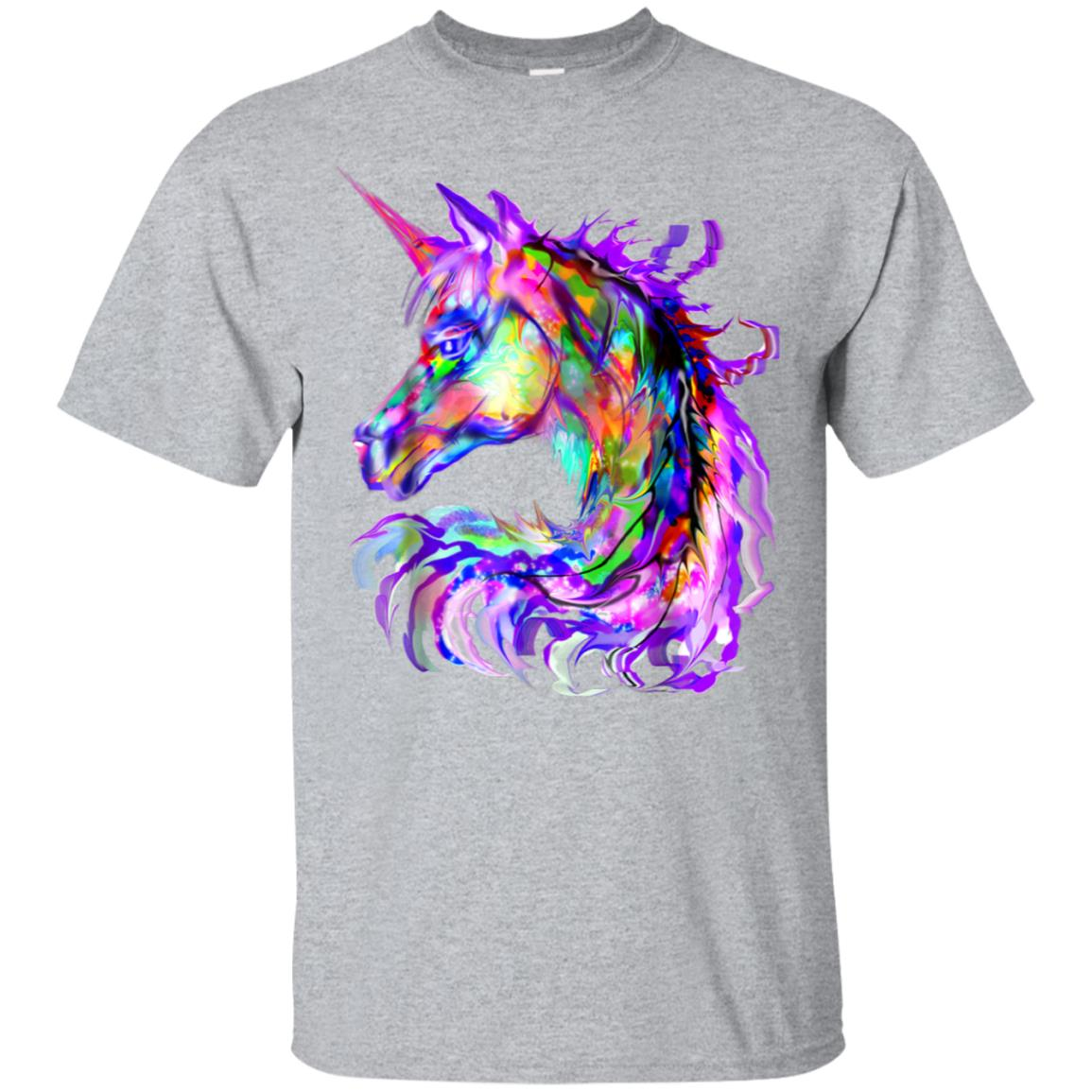 Colorful Rainbow Cute Unicorn Festival Rave Shirt 99promocode