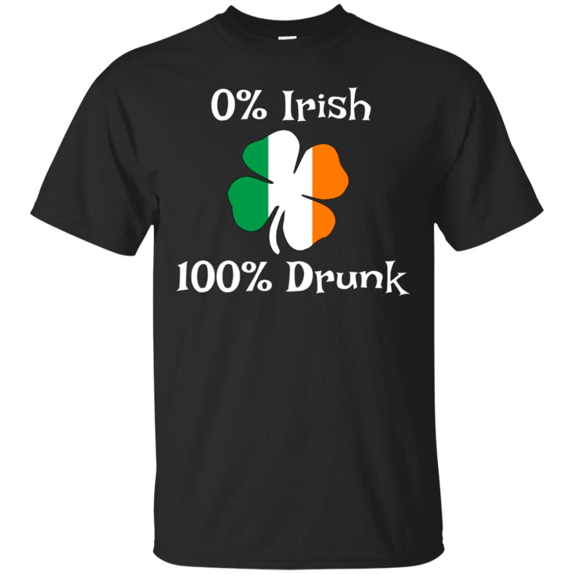 0% Irish 100% Drunk Funny Irish Beer Crawl Shirt 99promocode